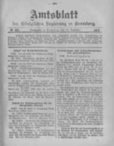 Amtsblatt der Königlichen Preussischen Regierung zu Bromberg. 1903.12.10 No.50