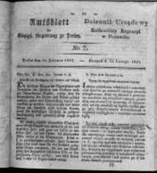 Amtsblatt der Königlichen Regierung zu Posen. 1827.02.13 Nro.7