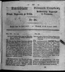 Amtsblatt der Königlichen Regierung zu Posen. 1827.07.24 Nro.30