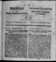 Amtsblatt der Königlichen Regierung zu Posen. 1827.09.25 Nro.39