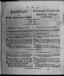 Amtsblatt der Königlichen Regierung zu Posen. 1826.02.07 Nro.6