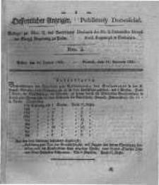 Oeffentlicher Anzeiger. 1831.01.11 Nro.2