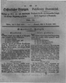 Oeffentlicher Anzeiger. 1831.04.05 Nro.14