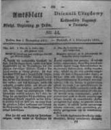 Amtsblatt der Königlichen Regierung zu Posen. 1831.11.01 Nro.44