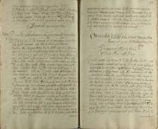 Oratia do KJM [Zygmunta III] na seimie warszawskim [7.03. - 18.04.] Anno 1606 [inną ręką] JeoMci pana Piotra Goraiskiego