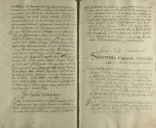 Anno 1605. Sumarius votum hetmanskiego w Bełzie canclerza wielkiego Jana Zamoyskiego