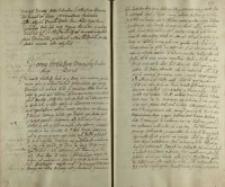 Votum Jeo Mczi pana woiewody krakowskiego [Mikołaja Zebrzydowskiego 13.06.] Ao 1606