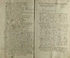 Votum Jeo Mczi pana Andrzeia Lesczynskiego woiewody brzeskiego [1605]