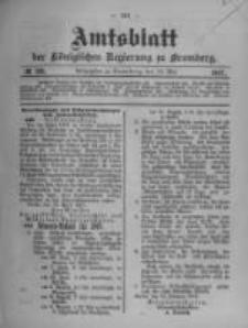 Amtsblatt der Königlichen Preussischen Regierung zu Bromberg. 1907.05.16 No.20