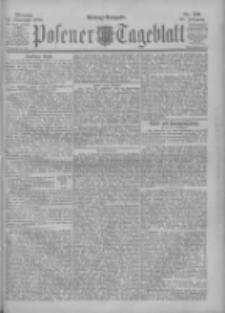 Posener Tageblatt 1900.11.12 Jg.39 Nr531