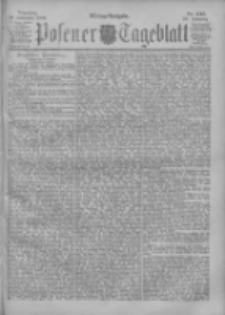 Posener Tageblatt 1900.11.20 Jg.39 Nr545