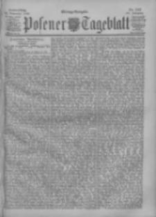 Posener Tageblatt 1900.11.22 Jg.39 Nr547
