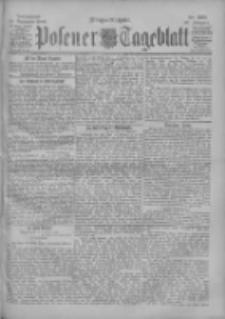 Posener Tageblatt 1900.11.24 Jg.39 Nr550