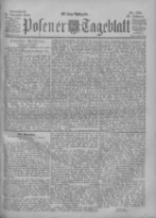 Posener Tageblatt 1900.11.24 Jg.39 Nr551