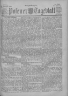Posener Tageblatt 1900.11.30 Jg.39 Nr560