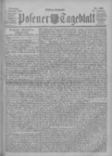 Posener Tageblatt 1900.12.04 Jg.39 Nr567