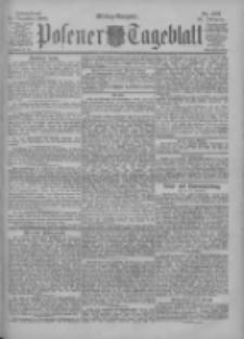 Posener Tageblatt 1900.12.15 Jg.39 Nr587
