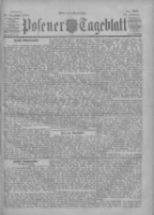 Posener Tageblatt 1900.12.16 Jg.39 Nr588