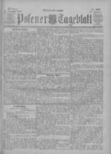 Posener Tageblatt 1900.12.19 Jg.39 Nr592