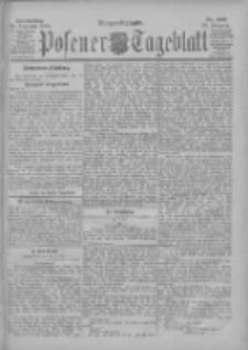 Posener Tageblatt 1900.12.20 Jg.39 Nr594