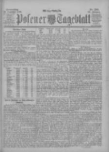 Posener Tageblatt 1900.12.20 Jg.39 Nr595