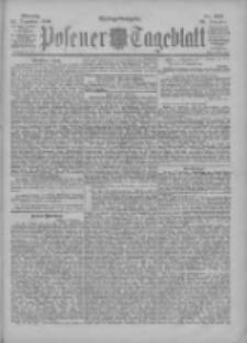 Posener Tageblatt 1900.12.24 Jg.39 Nr601