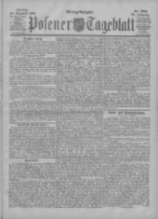 Posener Tageblatt 1900.12.28 Jg.39 Nr605
