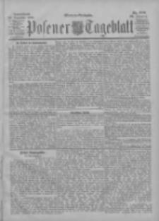 Posener Tageblatt 1900.12.29 Jg.39 Nr606