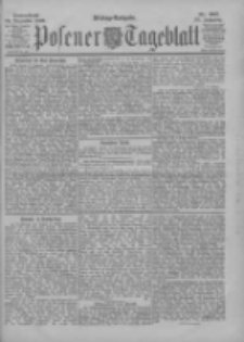 Posener Tageblatt 1900.12.29 Jg.39 Nr607