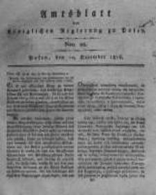 Amtsblatt der Königlichen Regierung zu Posen. 1816.12.10 Nro.28