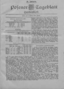 Posener Tageblatt. Handelsblatt 1900.01.03 Jg.39