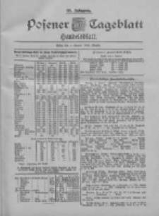 Posener Tageblatt. Handelsblatt 1900.01.04 Jg.39