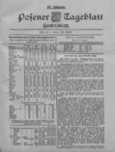 Posener Tageblatt. Handelsblatt 1900.01.09 Jg.39