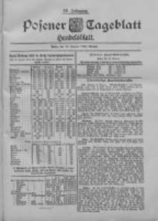 Posener Tageblatt. Handelsblatt 1900.01.16 Jg.39