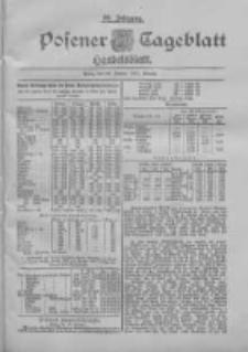 Posener Tageblatt. Handelsblatt 1900.01.24 Jg.39