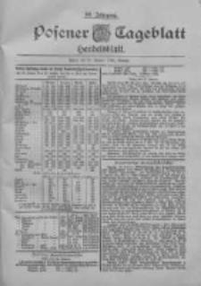 Posener Tageblatt. Handelsblatt 1900.01.27 Jg.39