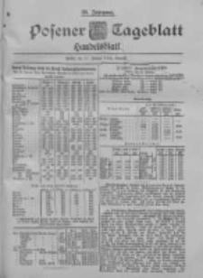 Posener Tageblatt. Handelsblatt 1900.01.31 Jg.39