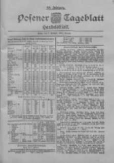 Posener Tageblatt. Handelsblatt 1900.02.01 Jg.39
