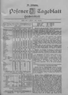 Posener Tageblatt. Handelsblatt 1900.02.03 Jg.39