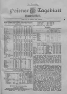 Posener Tageblatt. Handelsblatt 1900.02.12 Jg.39