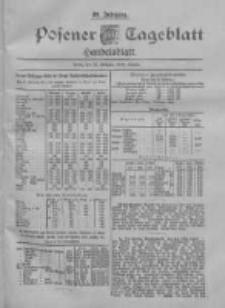 Posener Tageblatt. Handelsblatt 1900.02.19 Jg.39