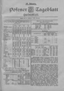 Posener Tageblatt. Handelsblatt 1900.02.21 Jg.39