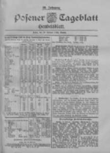 Posener Tageblatt. Handelsblatt 1900.02.24 Jg.39