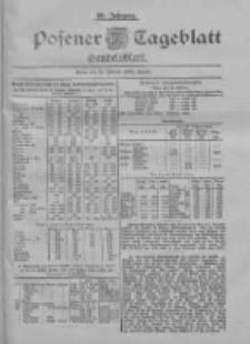 Posener Tageblatt. Handelsblatt 1900.02.26 Jg.39