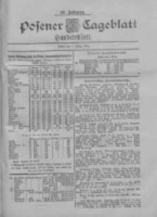 Posener Tageblatt. Handelsblatt 1900.03.01 Jg.39