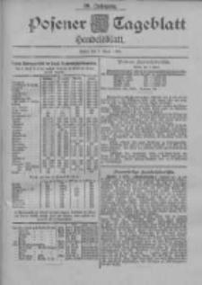 Posener Tageblatt. Handelsblatt 1900.04.07 Jg.39