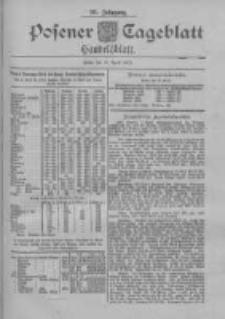 Posener Tageblatt. Handelsblatt 1900.04.10 Jg.39