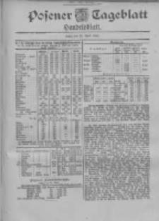 Posener Tageblatt. Handelsblatt 1900.04.25 Jg.39
