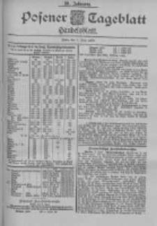 Posener Tageblatt. Handelsblatt 1900.06.09 Jg.39