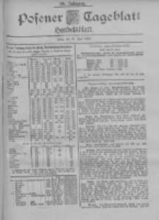 Posener Tageblatt. Handelsblatt 1900.06.19 Jg.39